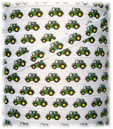 3/8 BITTY BIG GREEN TRACTOR - 5 Yards