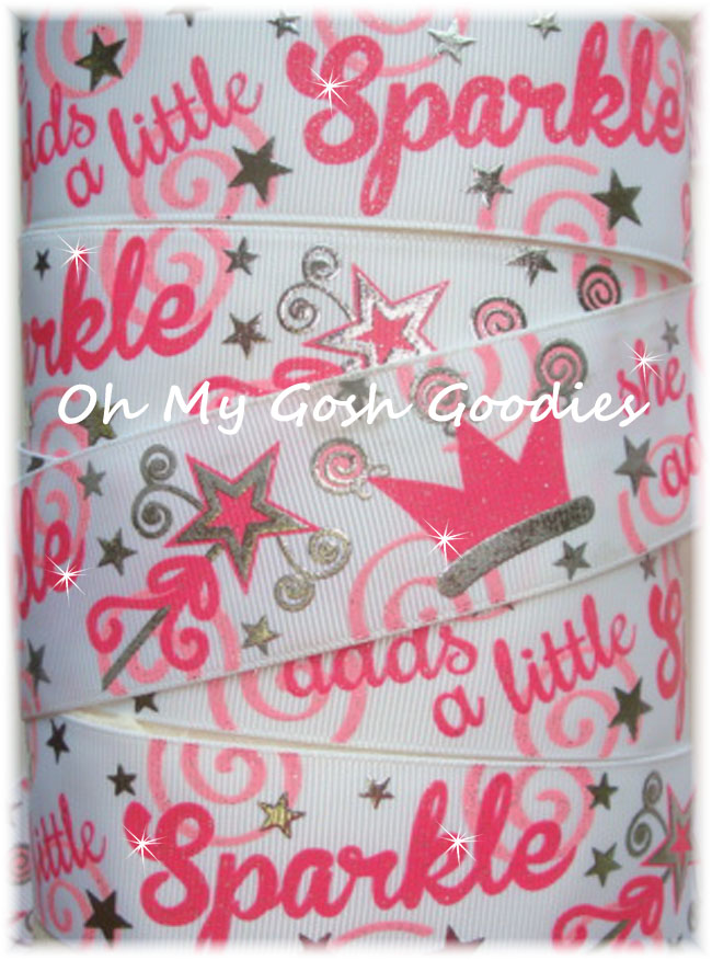 1.5 SHE ADDS SPARKLE PRINCESS WHITE - 5 YARDS