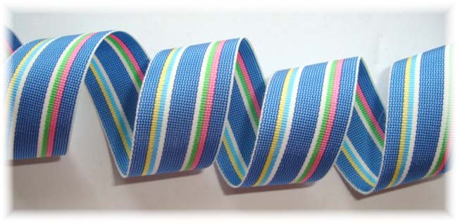 7/8 STRANO DESIGN FOREVER CLASSIC PREPPY STRIPE - 5 YARDS