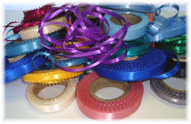 GOODY BAG GB15 OOAK PICOT ASST RIBBONS - 150+ YARDS