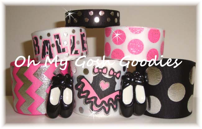 ZEBRA BALLET BALLERINA RIBBON MIX
