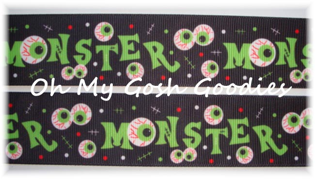 1.5 * EYEBALL * MONSTER HALLOWEEN - 5 YARDS