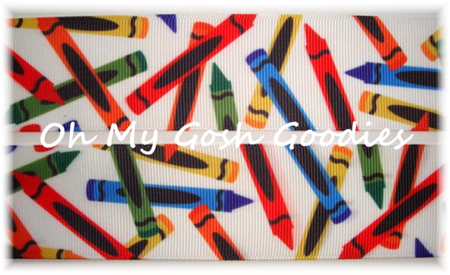 1.5 CRAZY CRAYONS BACK TO SCHOOL - 5 YARDS