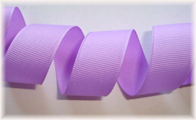 5/8 SALE LIGHT ORCHID OFFRAY SOLID GROSGRAIN - 5 YARDS