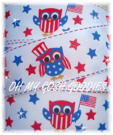 1.5 PATRIOTIC OWLS - 5 YARDS