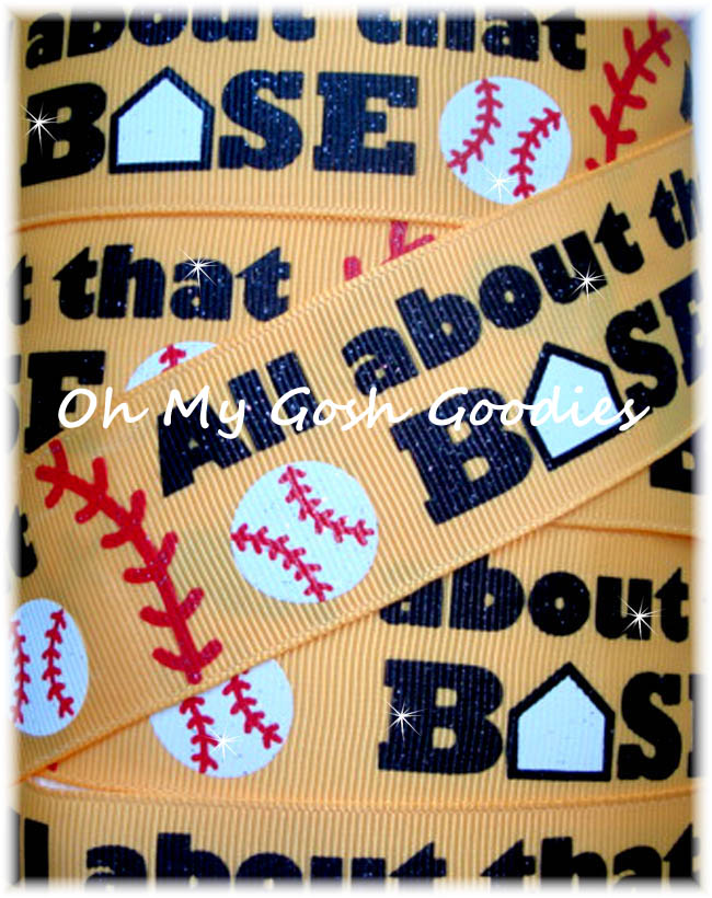 1.5 ALL ABOUT THAT BASE GLITTER SOFTBALL - 5 YARDS
