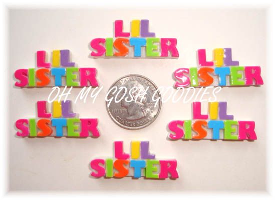 2PC LITTLE SISTER RESINS