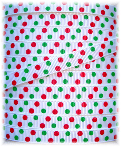 3/8 OOAK HOLIDAY JUMBO DOTS WHITE - 4 2/3 YARDS