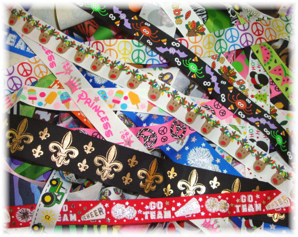 GOODY BAG  ASST DESIGNER RIBBONS - 1 LB