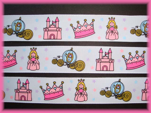 7/8 FAIRYTALE PRINCESS CASTLE WHITE 5 Yards