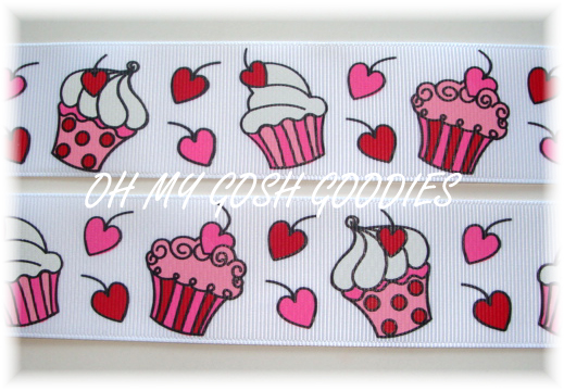 1.5 PEPPERMINT CUPCAKE KISSES -   5 YARDS