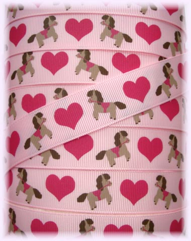 7/8 OOAK PINK HEART COWGIRL PONY - 1 1/4 YARDS