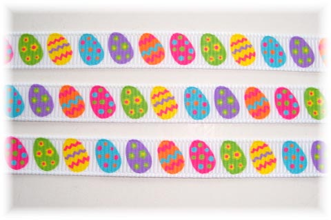 3/8 OOAK EASTER EGG-CEPTIONAL EGGS BRIGHT- 4 3/4 REMNANT YARDS