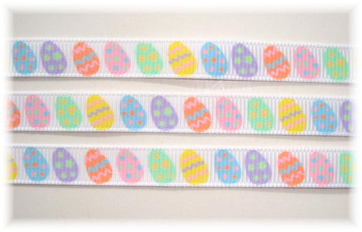3/8 EASTER EGG-CEPTIONAL EGGS PASTEL 5 Yards