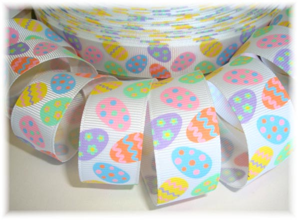 7/8 EASTER EGG-CEPTIONAL EGGS PASTEL 5 Yards