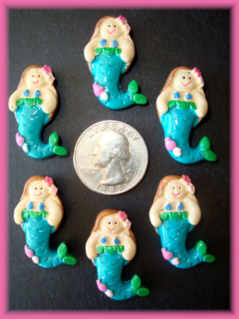 2PC MERMAID BABY RESINS