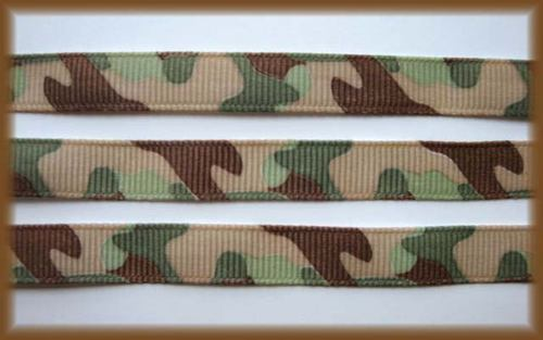 3/8 SALE! ARMY GREEN CAMO CAMOFLAUGE - 5 YARDS