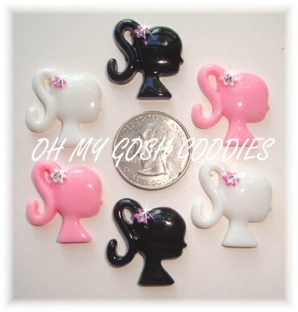 3PC FASHIONISTA BLING RESINS