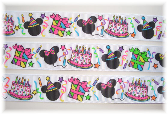 7/8 BIRTHDAY PARTY MINNIE - 5 Yards