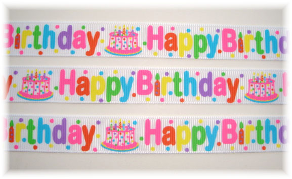 5/8 OOAK HAPPY BIRTHDAY SURPRISE PARTY - 3 YARDS