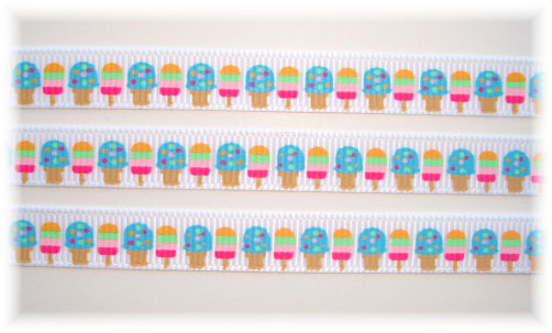 3/8 POPSICLE PARTY ICE CREAM - 5 YARDS