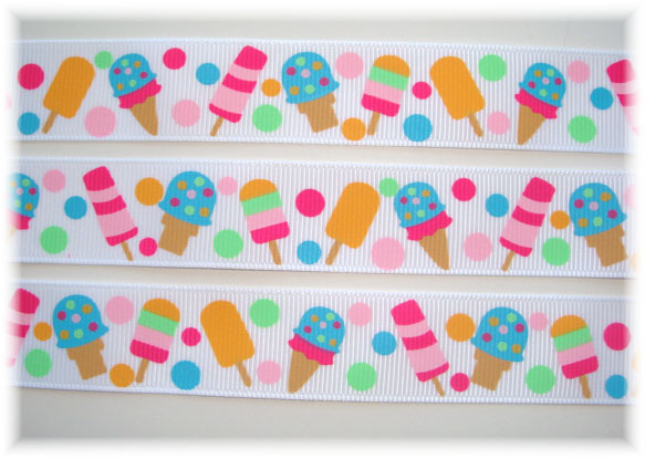 7/8 POPSICLE PARTY ICE CREAM - 5 YARDS