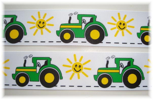 1.5 BIG GREEN TRACTOR - 5 Yards