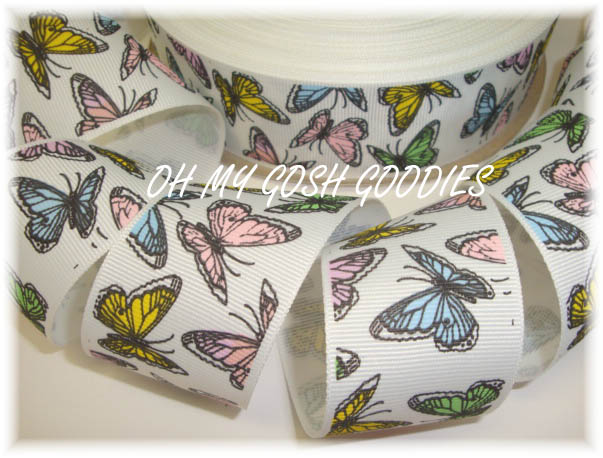 1.5 VINTAGE BUTTERFLY PASTEL - 5 YARDS
