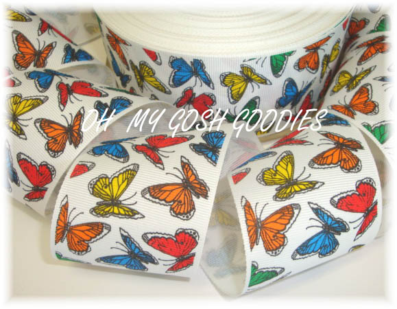 2 1/4 VINTAGE BUTTERFLY BRIGHT - 5 YARDS