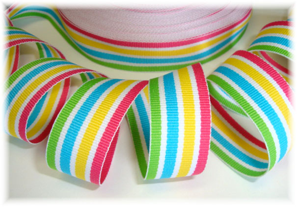7/8 POPSICLE PARTY STRIPE - 5 YARDS