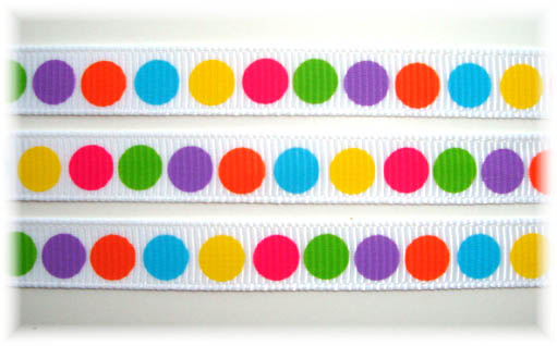 3/8 GUMBALL DOTS - 5 YARDS