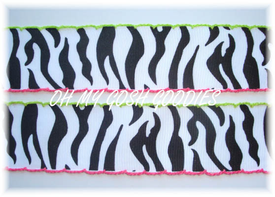 1.5 IRREGULAR MOON STITCH ZEBRA - 5 YARDS