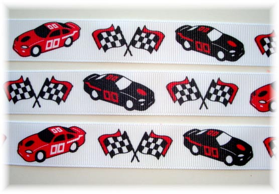 7/8 NASCAR RACE CARS - 5 YARDS