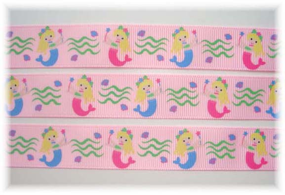7/8 MERMAID MAGIC PINK - 13 YARDS