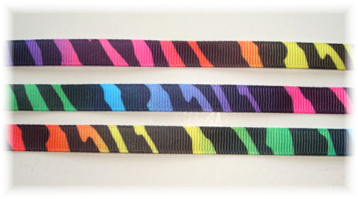 3/8 RAINBOW ZEBRA - 5 YARDS