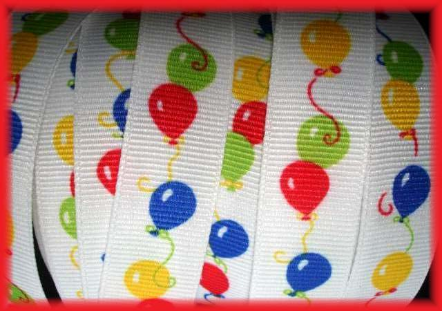 5/8 SALE BIRTHDAY BALLOONS - 2 YARDS