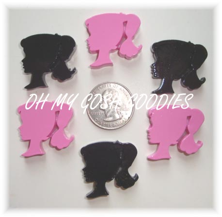 2PC FASHIONISTA SILHOUETTE RESINS