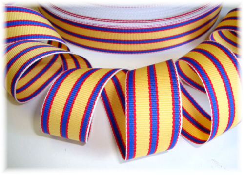 7/8 DESIGNER PREPPY SCHOOL STRIPE - 5 YARD