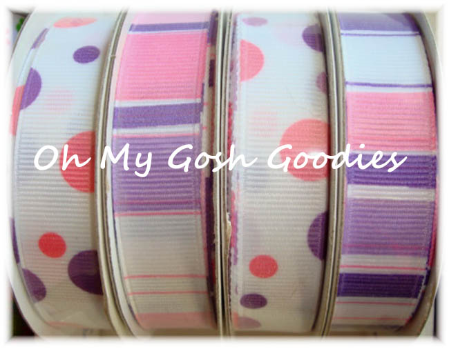 5/8 OOAK M6 DOTS / STRIPE MINI MIX - 12 YARDS