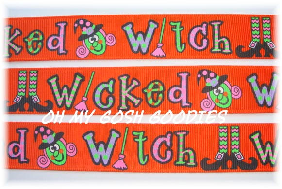7/8 WICKED WITCH SHOES - 5 YARDS