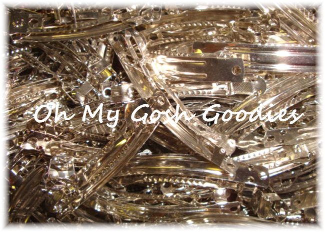 25PCS - 60MM FRENCH CLIP