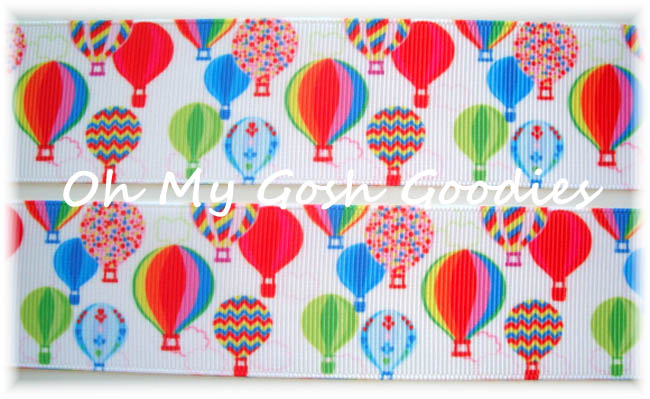 1.5 PRIMARY HOT AIR BALLOONS - 5 YARDS
