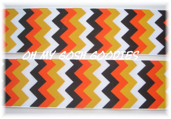 1.5 WICKED CANDY CORN CHEVRON - 5 YARDS