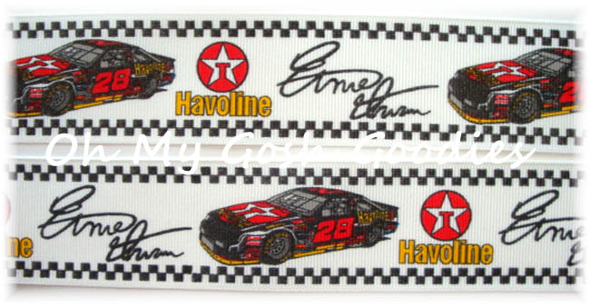 1.5 OOAK ERNIE IRVAN NASCAR LICENSED - 10 YARDS