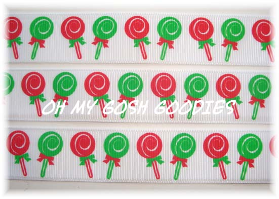 7/8 HOLIDAY LOLLIPOPS - 5 YARDS