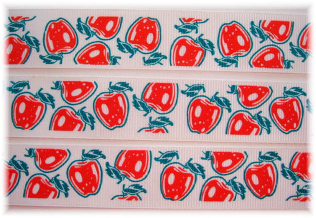 "1"" VINTAGE CLASSIC APPLES - 5 YARDS"