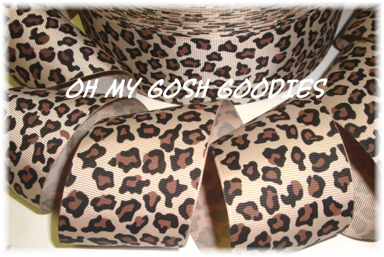 2 1/4 SAFARI LEOPARD BROWN - 5 YARDS