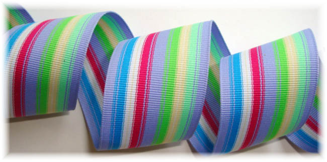 1.5 OOAK F21 PREPPY STRIPE -6 3/4 YARDS