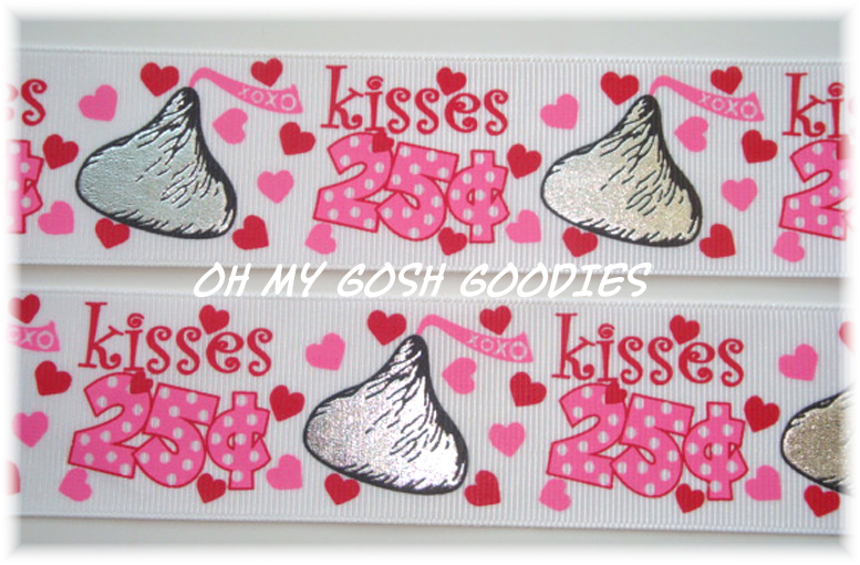 1.5 CANDY KISSES 25C - 5 YARDS