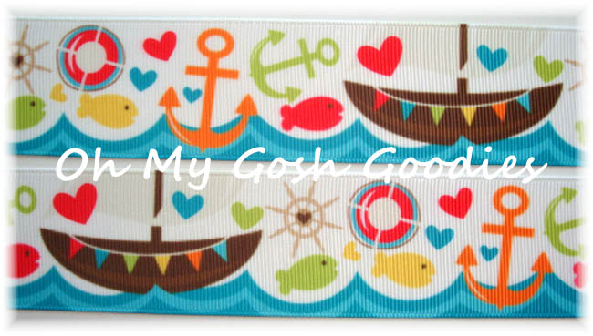 1.5 PIRATE SHIP NAUTICAL - 5 YARDS